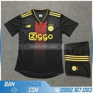 Áo Đấu Ajax 2020 Training 1 Màu Đen