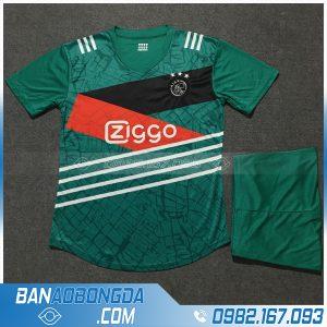 Áo Đấu Ajax 2020 Training 3 Màu Xanh Lá Đậm