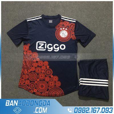 Áo Đấu Ajax 2020 Training 7 Màu Tím Than