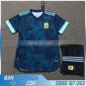 Áo Đấu Argentina 2020 Sân Khách Màu Xanh Lý