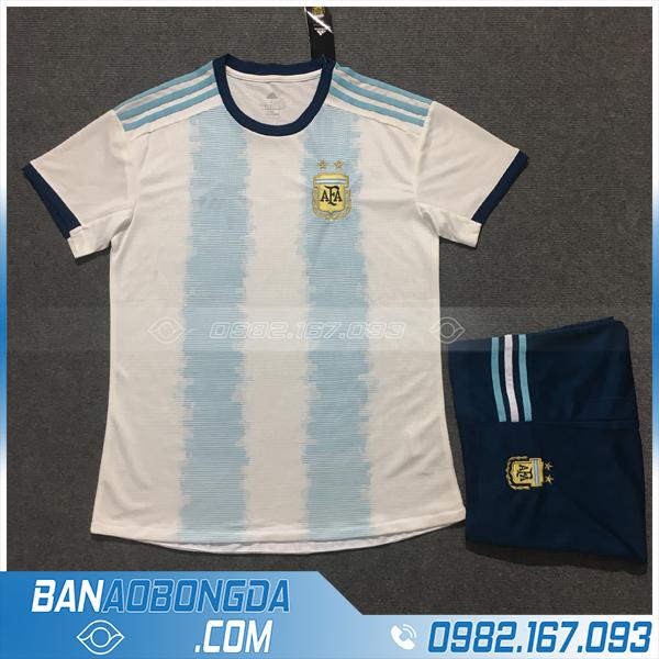 Áo Đấu Argentina 2020 Sân Nhà Màu Trắng Xanh