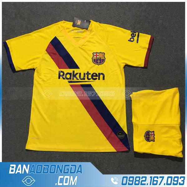 áo bóng đá barcelona 2020 sân khách