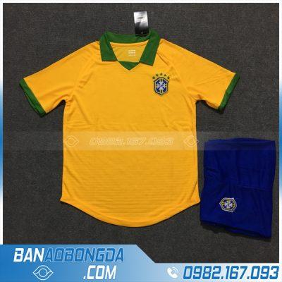 Áo Đấu Đội Tuyển Brazil 2020 Sân Nhà Màu Vàng