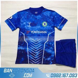 Áo Đấu Chelsea 2020 Training 3 Galaxy Xanh Dương