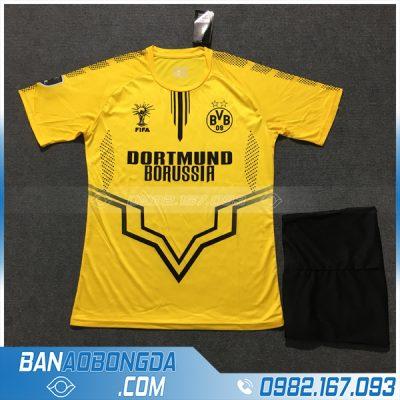 Áo Đấu Dortmund 2020 Training 1 Màu Vàng