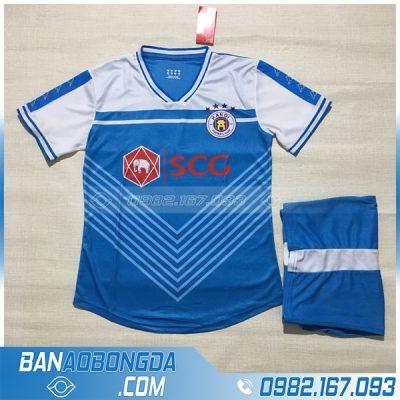 Áo Đấu Hà Nội FC 2020 Training 3 Màu Xanh Dương