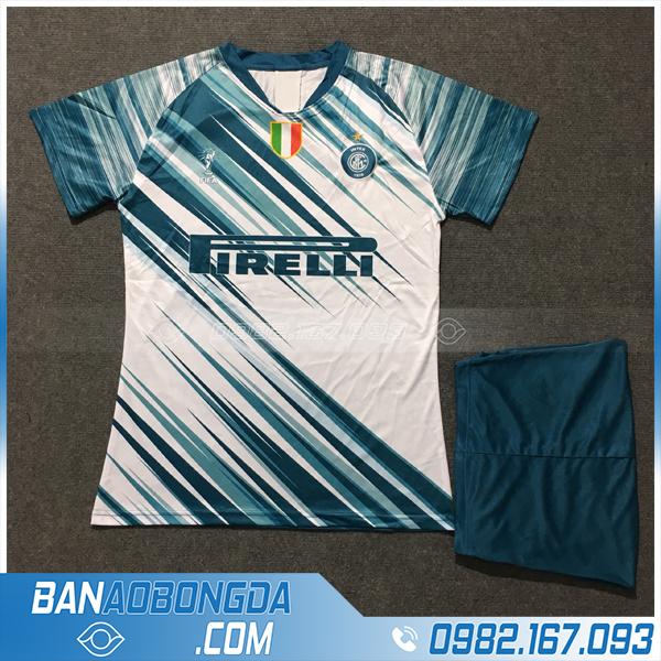 Áo Đấu Inter Milan 2020 Training 1 Màu Trắng Xanh