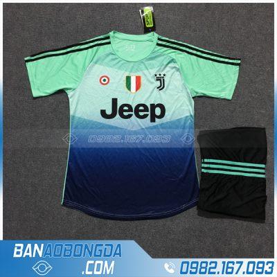 Áo Đấu Juventus 2020 Training 4 Màu Xanh Ngọc