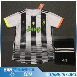 Áo Đấu Juventus 2020 Training 6 Màu Trắng Đen
