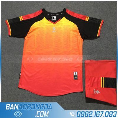 Áo Đấu Không Logo Egan HZDD01 Fine Màu Cam Vàng