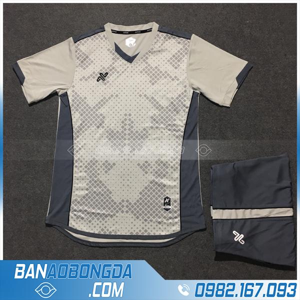 Áo Đấu Không Logo NB HZAM01 Karoo Màu Xám Nhạt