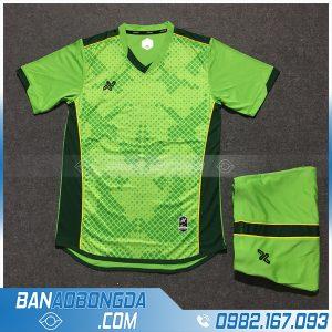 Áo Đấu Không Logo NB HZAM01 Karoo Màu Xanh Chuối