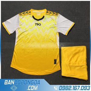 Áo Đấu Không Logo T90 HZLM01 Bambor Màu Vàng