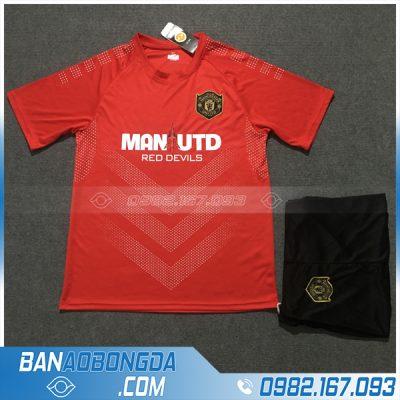 Áo Đấu Manchester United 2020 Training 3 Màu Đỏ