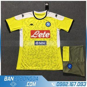 Áo Đấu Napoli 2020 Training 2 Màu Vàng