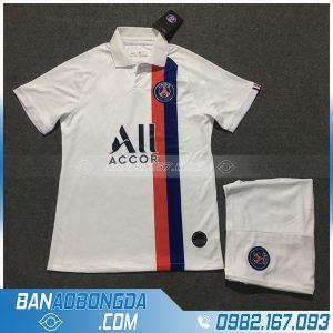 áo bóng đá câu lạc bộ psg màu trắng