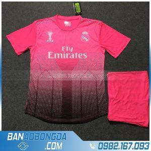 Áo Đấu Real Madrid 2020 Training 3 Màu Hồng
