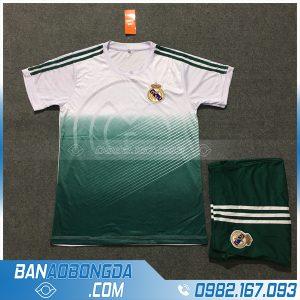Áo Đấu Real Madrid 2020 Training 4 Màu Xanh Trắng