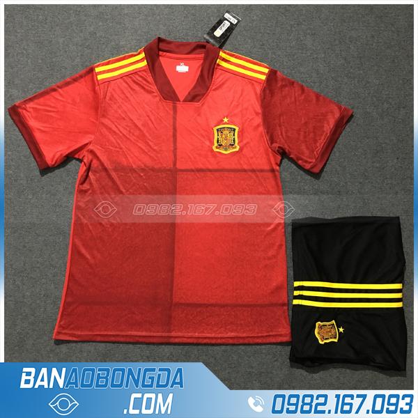 Áo Đấu Tây Ban Nha 2020 Sân Nhà Màu Đỏ