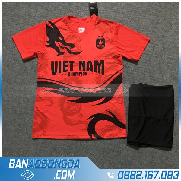 Áo Đấu Đội Tuyển Việt Nam 2020 Dragon Màu Đỏ