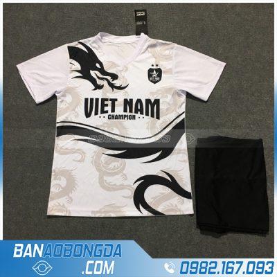 Áo Đấu Đội Tuyển Việt Nam 2020 Dragon Màu Trắng