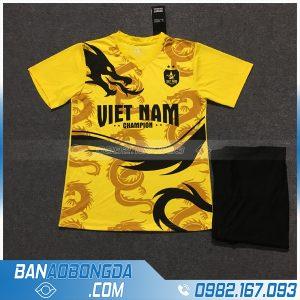 Áo Đấu Đội Tuyển Việt Nam 2020 Dragon Màu Vàng