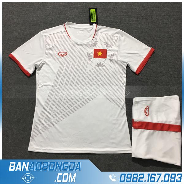 Áo Đấu Việt Nam 2020 Sân Khách Màu Trắng
