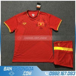 Áo Đấu Đội Tuyển Việt Nam 2020 Sân Nhà Màu Đỏ