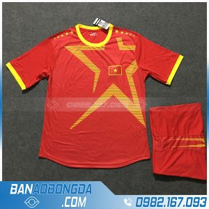 Áo Đấu Đội Tuyển Việt Nam Training 2 Màu Đỏ