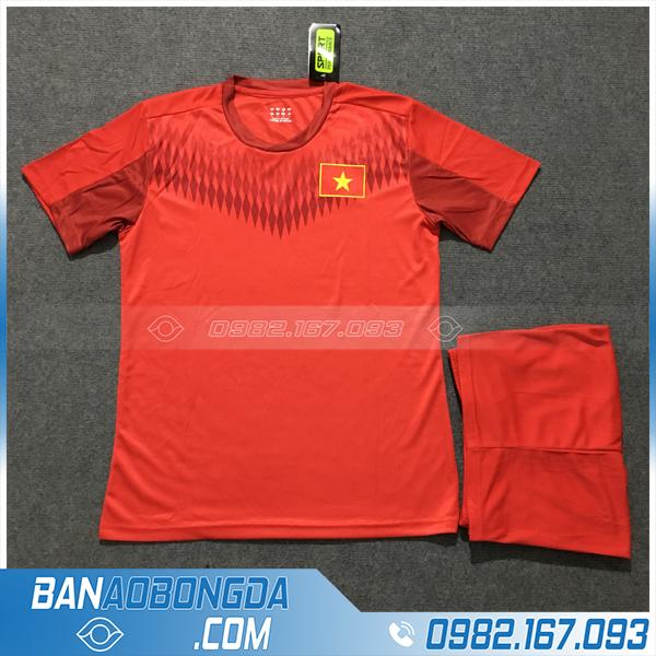 Áo Đấu Đội Tuyển Việt Nam 2020 Training 5 Màu Đỏ