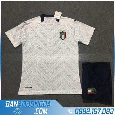 Áo Đấu Đội Tuyển Ý 2020 Sân Nhà Màu Trắng