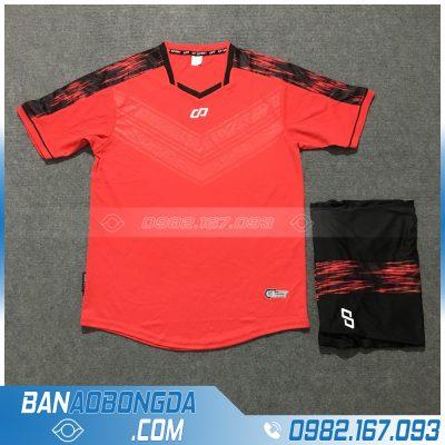 Áo Đấu Không Logo CP HZDD06 Titan Màu Đỏ