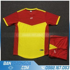 Áo Đấu Không Logo CP HZDD09 Etio Màu Đỏ Vàng