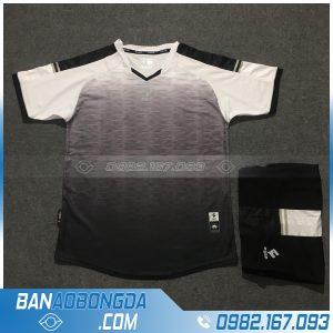 Áo Đấu Không Logo Egan HZDD01 Fine Màu Đen Trắng
