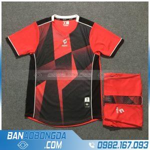 Áo Đấu Không Logo Egan HZDD02 Relix Màu Đỏ