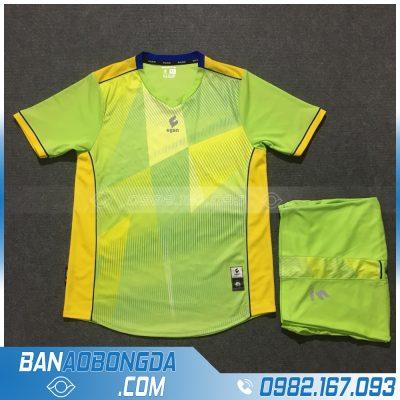 Áo Đấu Không Logo Egan HZDD02 Relix Màu Xanh Chuối