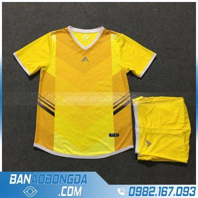 Áo Đấu Không Logo Eureka HZKW04 Blitex Màu Vàng