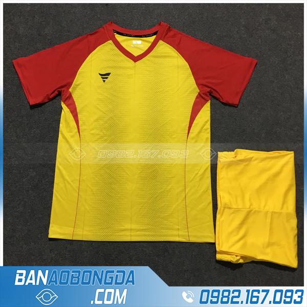 Áo Đấu Không Logo Fegan HZTA01 Author Màu Vàng Đỏ