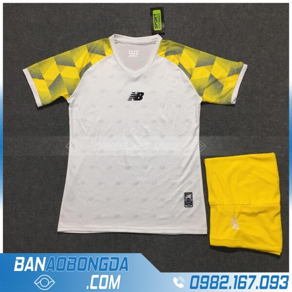 Áo Đấu Không Logo NB HZLM01 Aniana Màu Trắng Vàng