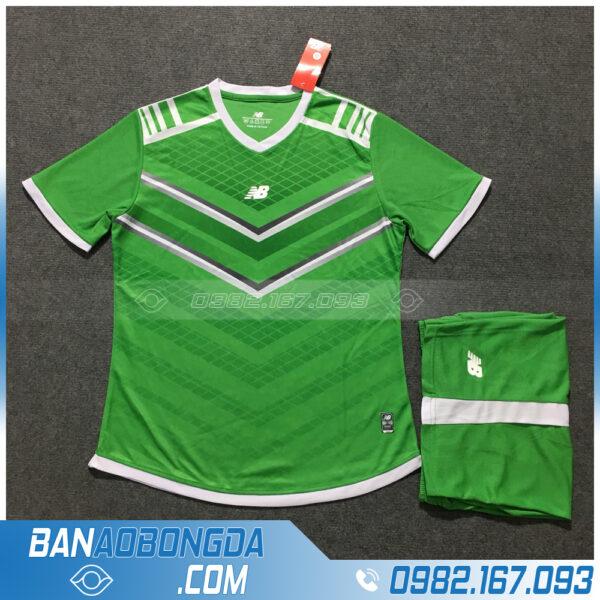 Áo Đấu Không Logo NB HZLM02 Biyo Màu Xanh Lá