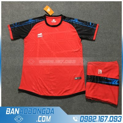 Áo Đấu Không Logo Zuka HZPH07 Arix Màu Đỏ size lớn