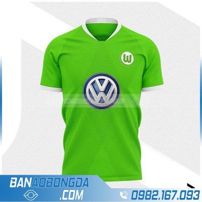 Áo bóng đá bigsize màu xanh chuối đẹp