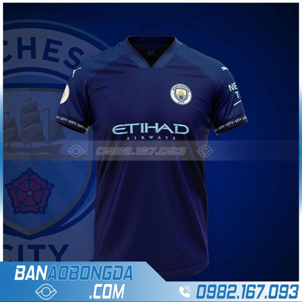 Quần áo bóng đá màu tím than