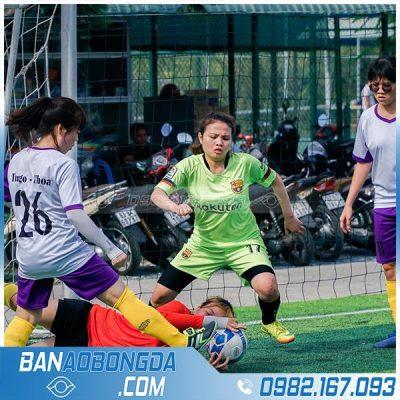 áo đấu bóng đá đẹp cho đội bóng nữ
