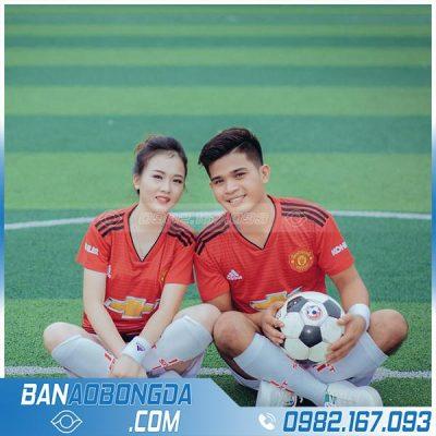 Áo bóng đá MU đỏ đẹp
