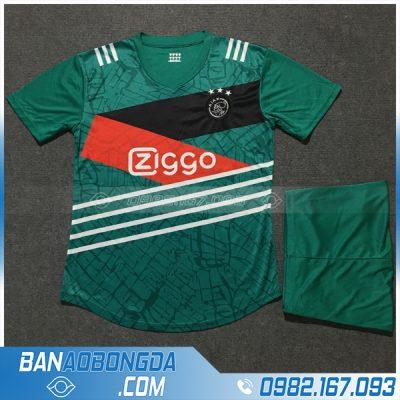 Áo Ajax Amsterdam màu xanh lá
