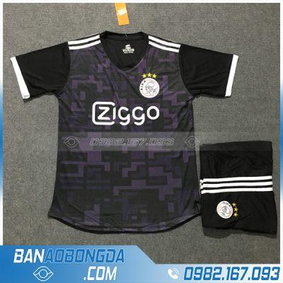 Quần áo thể thao Ajax 2020 màu đen đẹp
