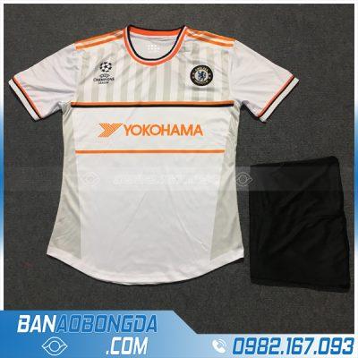Quần áo bóng đá Chelsea trắng 2020 đẹp