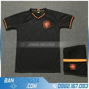 Áo Đấu Đội Tuyển Hà Lan 2020 Training 2 Màu Đen