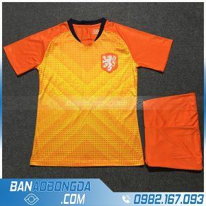 Áo Đấu Đội Tuyển Hà Lan Training 4 Màu Cam
